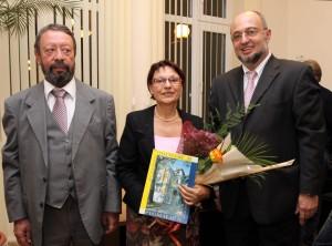 Връчване на наградата на лаореата проф. дфн Диана Иванова